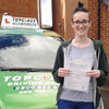 I would like to say thanks to Top Class and my instructor Keith for helping me pass my driving test first                                 time. Keith was very calming and made me feel extremely comfortable whilst learning to drive, making my                                 experience very fun. He was very patient with me and I would recommend Keith for anyone wanting to start                                 learning to drive.<br/><br/><b>Aimee Webb</b>, Gillingham Kent