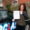 I would like to say thank you to Topclass Driving School and my Driving Instructor Lynne lessons with Lynne were fun and enjoyable. I felt comfortable & confident very quickly which helped me pass my driving test first time Topclass is definitely the way to go!<br/><br/><b>Charmaine Tanser</b>, Strood Kent