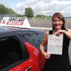 I started my Driving lessons with Topclass instructor Michelle, in early Feb this year. From the onset I                                 felt comfortable and was given clear, calm and reassuring advice throughout my learner driving experience.                                 Particularly helpful was Michelle&rsquo;s flexibility in terms of timing of lessons. I commute to London for                                 work so having an instructor willing to do 7pm lessons during the week was great. It all worked out                                 pretty well as I&rsquo;ve just passed my test, first time! Thanks for an enjoyable, stress free learning                                 experience, see you on the road..                                 <br /><br />                                 Thank you<br/><br/><b>Grace Butcher</b>, Strood Kent