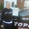 Hi I would just like to say a huge thank you to top class driving school and a massive huge thank you to my                                 driving instructor john who was the best driving instructor ever he had a lot of patience and it was a                                 pleasure every week going out with him for my driving lessons I passed my driving test on the 11/12/13 once                                 again thanks john I wouldn't of done it without you.<br/><br/><b>Nicky Chapman</b>, Maidstone Kent