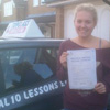 Hi I would like to say a big thank you to Topclass driving school and my driving instructor Andy he was                                 always very was a patient and a reliable instructor who helped me pass my driving test first time. It was                                 fun learning to drive with him.                                 <br /><br />                                 Thanks andy and thanks Topclass.<br/><br/><b>Molly Chappell</b>, Maidstone Kent
