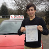 passed Gillingham 21st Feb '13<br/><br/>